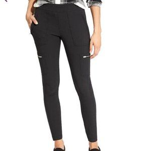athleta wander cargo utility pants in dark grey